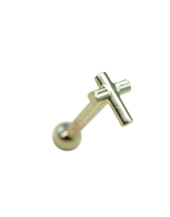 Labret Cross Ball