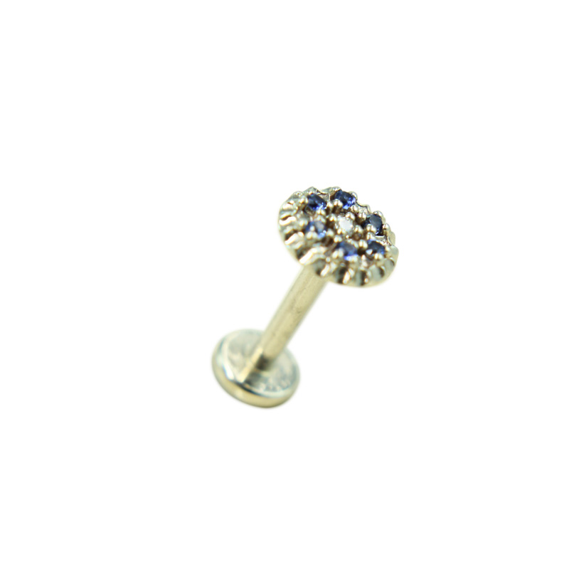 Labret Flower Disc