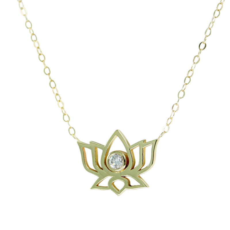 14K-GOLD-Lotus-Necklace