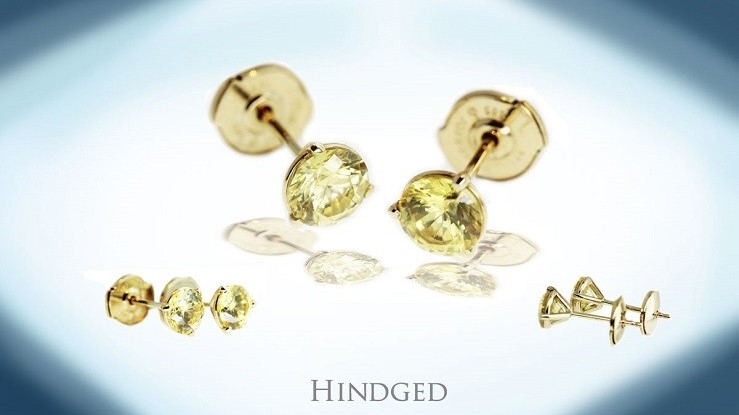 Earrings | Hindged