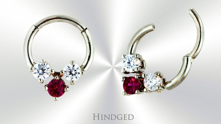 Custom Septum Rings | Hindged