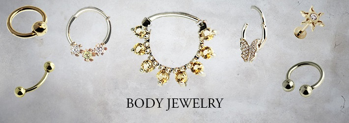 Hindged - Custom Gold Jewelry - Body Jewelry