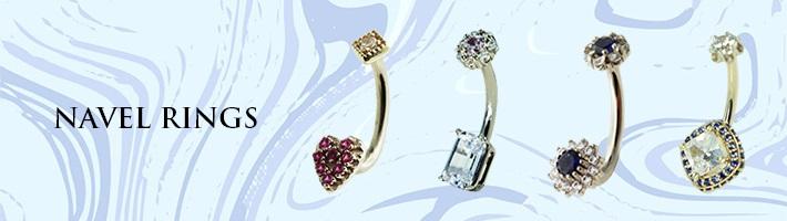 Hindged - Custom Gold Jewelry - Navel Rings