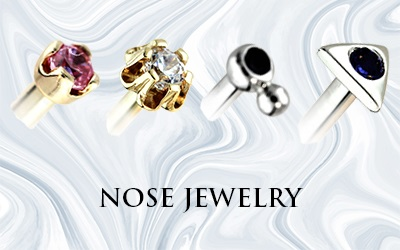 Hindged - Custom Gold Jewelry - Nose Jewelry